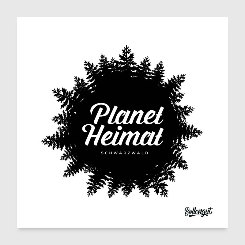 Planet Schwarzwald planet home black forest by retweeded spreadshirt