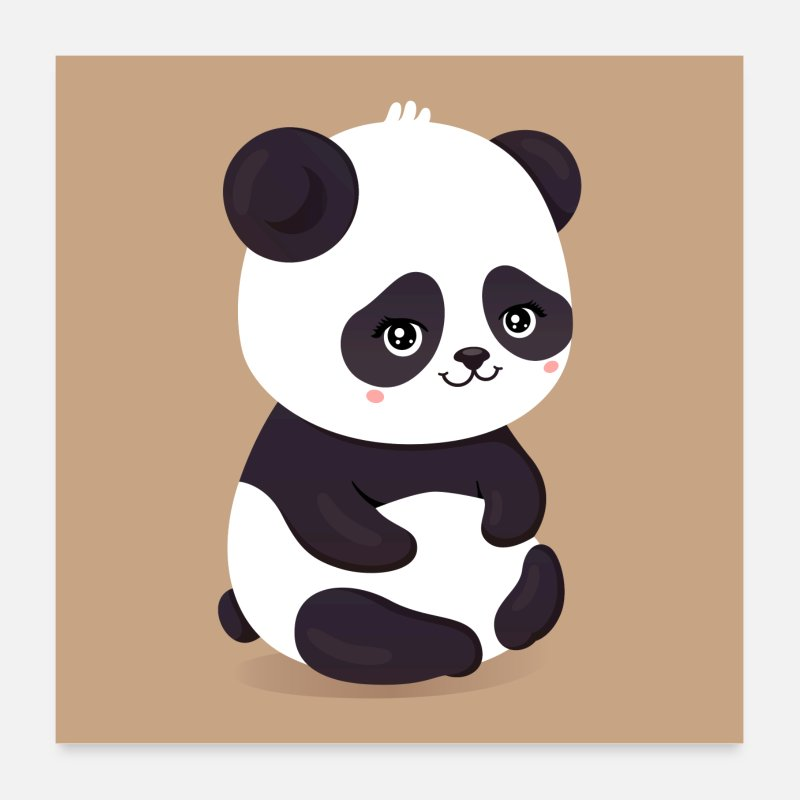 cute panda by ykzn spreadshirt