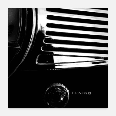 Bikes And Cars Collection Tuning - Poster 60x60 cm