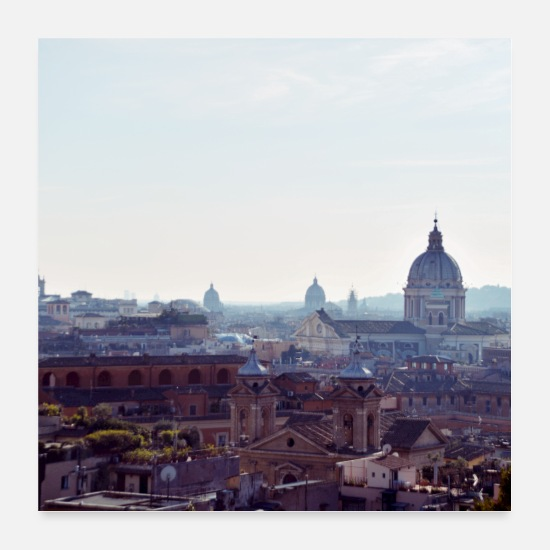 Italien Posters - Rome - Posters blanc