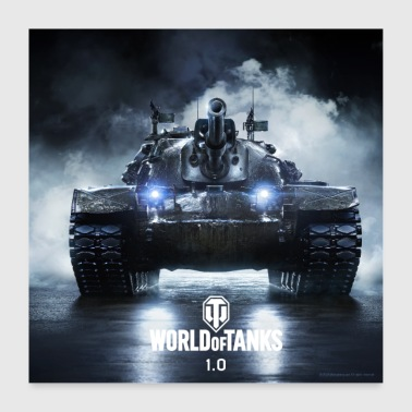 World of Tanks WoT M48A5 PATTON - Poster 60 x 60 cm