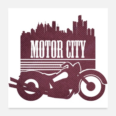 Techie Motor City - Poster