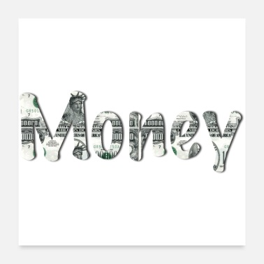 Wealth Money - Poster 24 x 24 (60x60 cm)