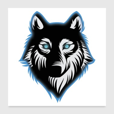 WOLF - Poster 24 x 24 (60x60 cm)