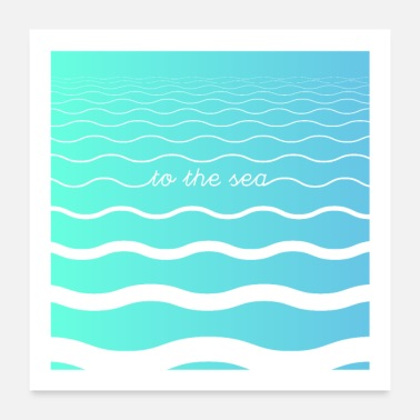 Sea To The Sea - Poster 24 x 24 (60x60 cm)