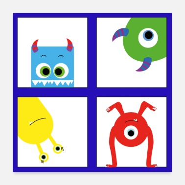 Nursery Monster Kinderzimmer Poster nursery Art - Poster