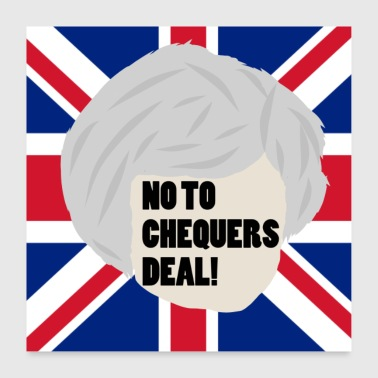 NON AUX CHECKERS DEAL! - Poster 60 x 60 cm