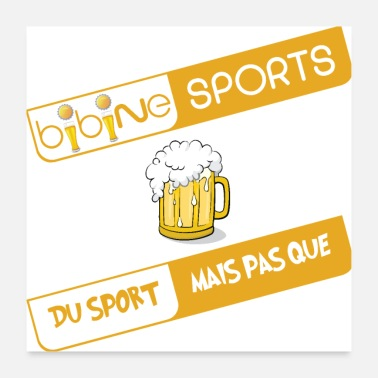 Tv Bibine Sport - For sports TV - Poster 24 x 24 (60x60 cm)