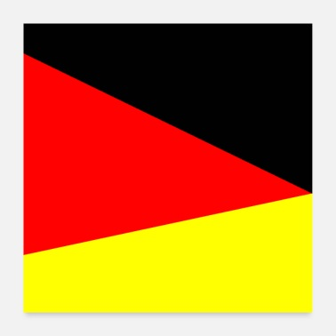 Trend Allemagne quadrangle - Poster 60 x 60 cm
