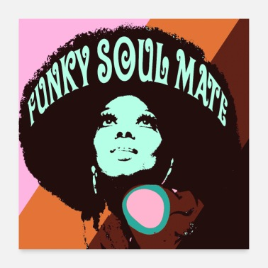 70'erne funky soulmate - Poster