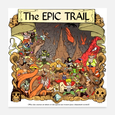 Course À Pied The Epic Trail 2 - Poster