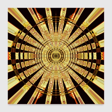 Golden Circle - Poster 24 x 24 (60x60 cm)