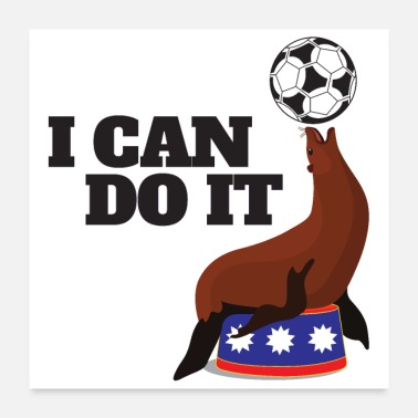 Exercise I Can Do It Robben Ball Exercise Balance - Poster