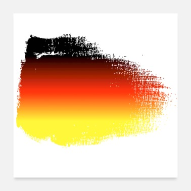 Champ Germany flag - Poster