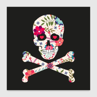 Treasure JOLLY ROGER - Poster 24 x 24 (60x60 cm)