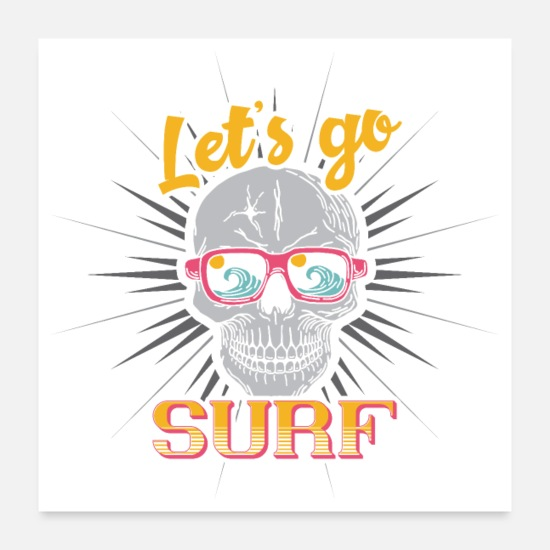 Surf Posters - surf - Posters blanc