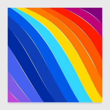 COLORFUL DAY - Poster 24 x 24 (60x60 cm)