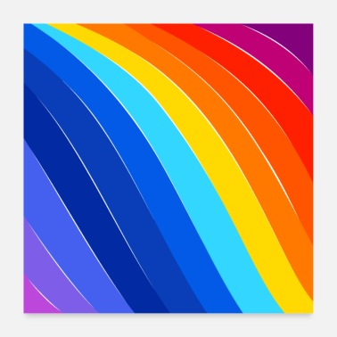 Day COLORFUL DAY - Poster 60x60 cm