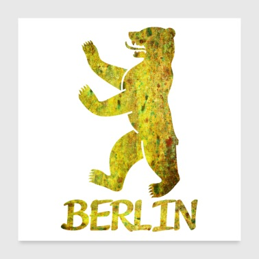Bear of Berlin - Poster 24 x 24 (60x60 cm)