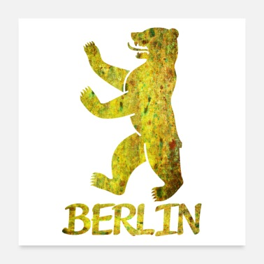 Neukölln Bear of Berlin - Poster