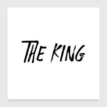 THE KING Y - Poster 24 x 24 (60x60 cm)