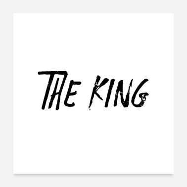 Pen THE KING Y - Poster 24 x 24 (60x60 cm)