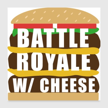 Communism Battle Royal With Cheese - Poster 24 x 24 (60x60 cm)