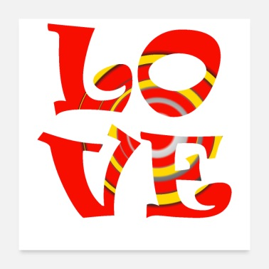 Affection Love - Poster 24 x 24 (60x60 cm)