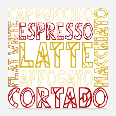 Type Coffee Types - Poster