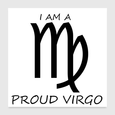 Birth VIRGO - Poster 24 x 24 (60x60 cm)