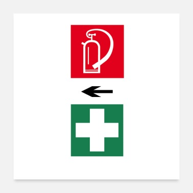 First Aid Fire and First Aid - Poster
