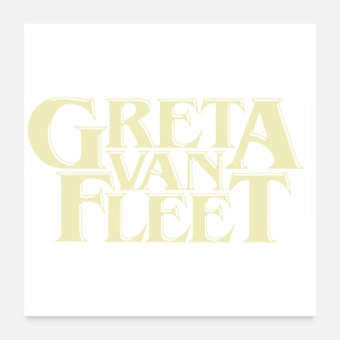 Tour greta van fleet band tour - Poster 24 x 24 (60x60 cm)