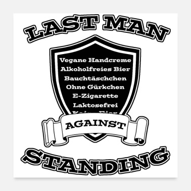 Macho Last man standing - Poster