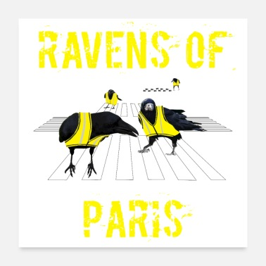 Fotos ravens of paris - Poster