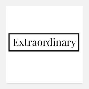 Employee Extraordinary - English for: exceptional - Poster