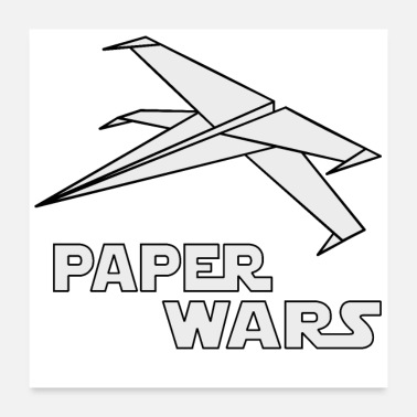 Paper Paper Wars - Poster