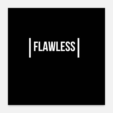 Statement Flawless print markellos statement logo - Poster
