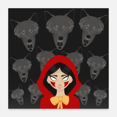 Reddit Red Riding Hood - Poster