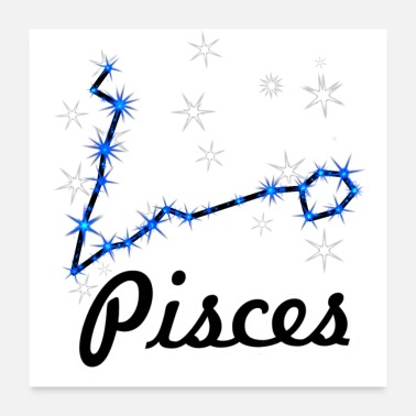 Pisces Star sign Pisces - Poster