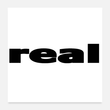 Real real - Poster