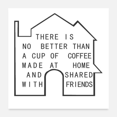 House coffee house - Poster