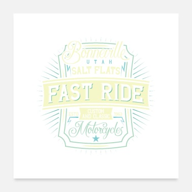 Fast Majestic Fast Ride - Poster