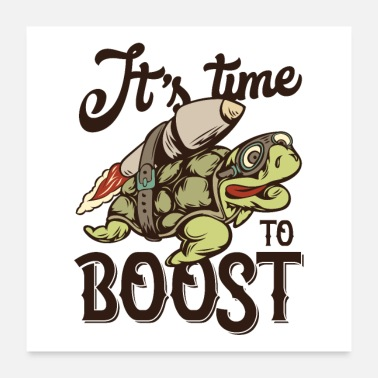 State It's time to boost - Poster