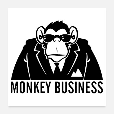 Business Monkey Business - Poster