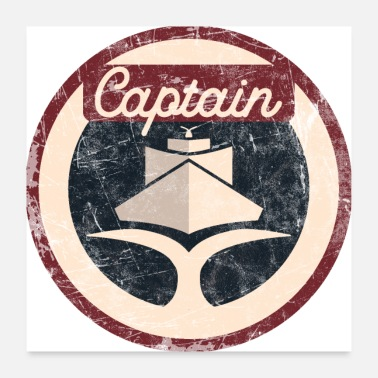 Capitaine Capitaine Vintage - Poster