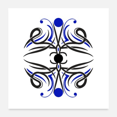Tatoo Design Tattoo graphic abstrait - Poster