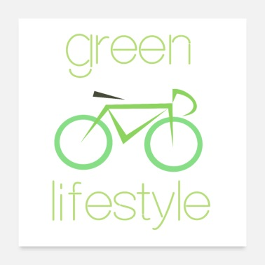 Lifestyle Green lifestyle - Poster