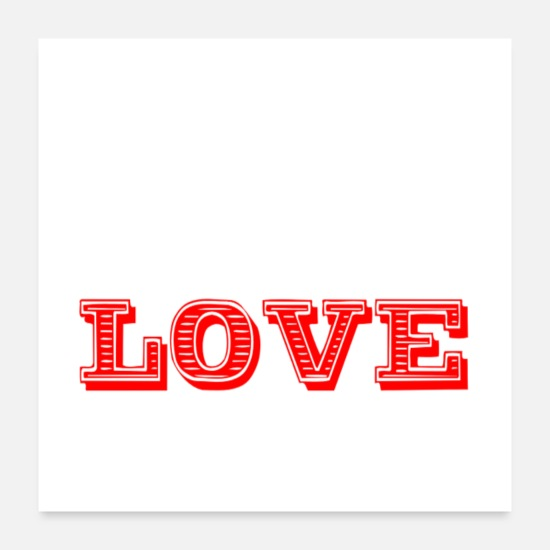 Love Posters - love 1 - Posters white