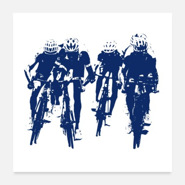 Competition Cycling ~ Cycling - Poster