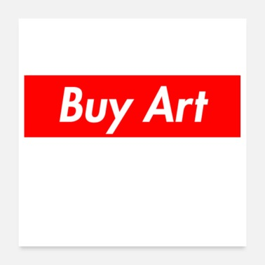 Buy Buy Art Not Drugs - Poster